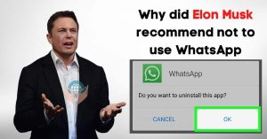 Read more about the article Why did Elon Musk Recommend not to use WhatsApp